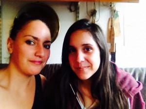 Malika and Laura