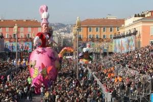 ©PHOTOPQR/NICE MATIN/Patrice LAPOIRIE NICE LE 19 02 2013 ; carnaval de nice 2013 place massena Carnival in Nice 02 19 2013